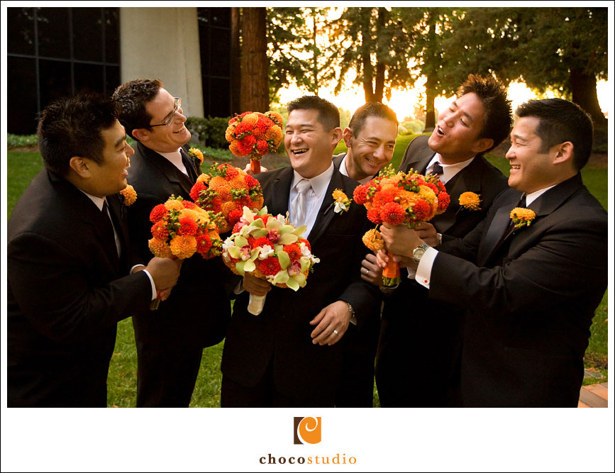 Freedom Hall and Gardens groomsmen