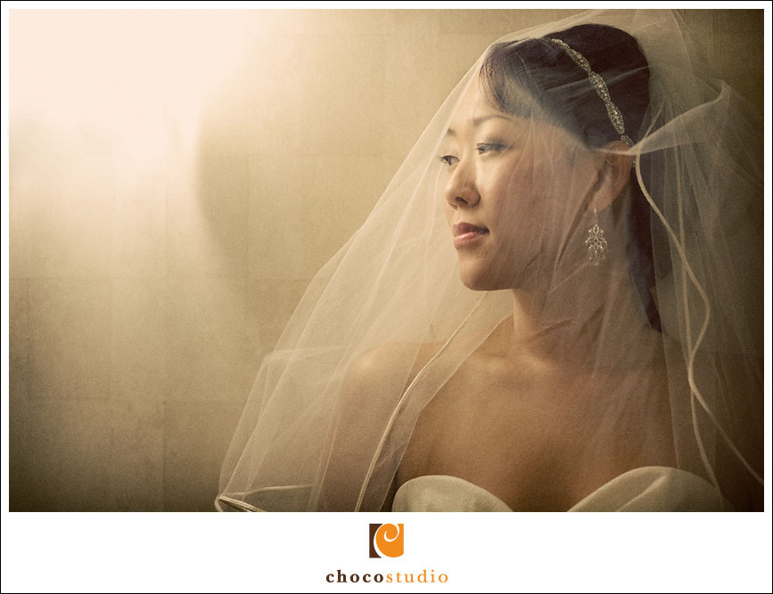 Freedom Hall and Gardens Bridal Portrait