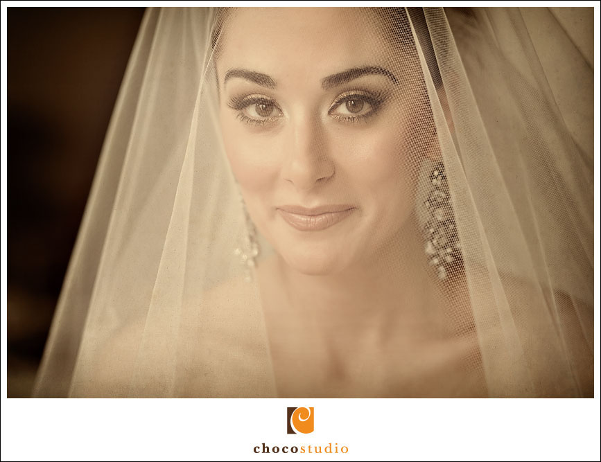 Portrait of Tatiyana on the Wedding Day