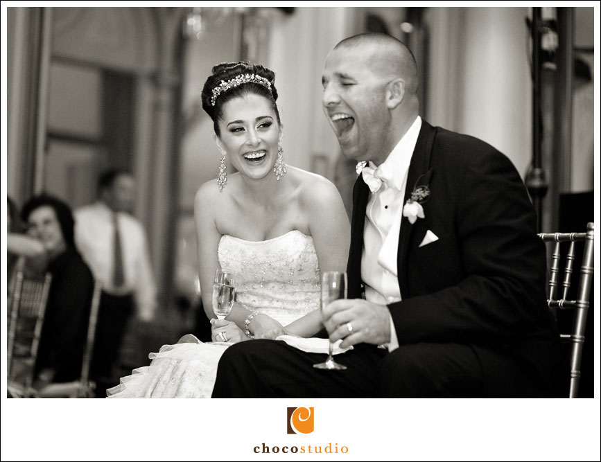 Wedding Reception Moment at Ralston Hall