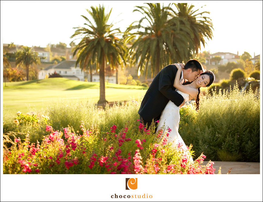 Silver Creek Valley Country Club wedding photo