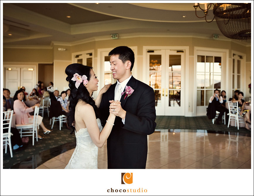 First dance at the Silver Creek Valley Country Club