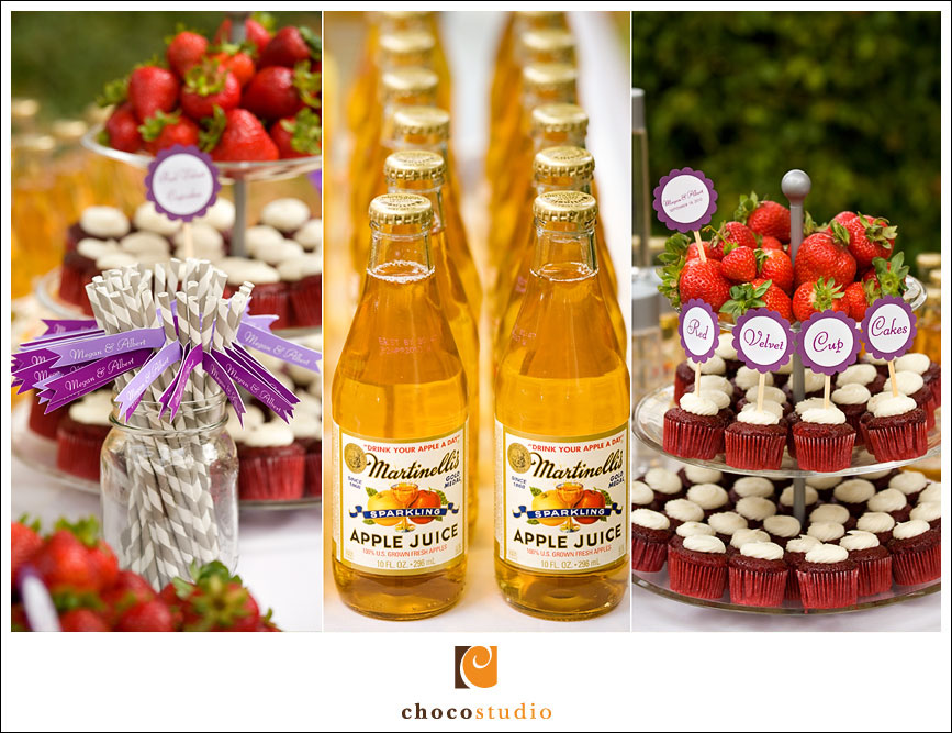 Drinks and Snacks for Wedding Ceremony