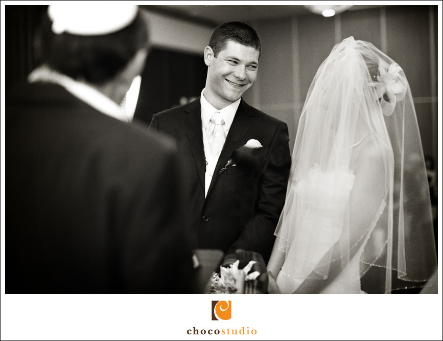 Emotional Moment during the Wedding Ceremony at Hotel Nikko