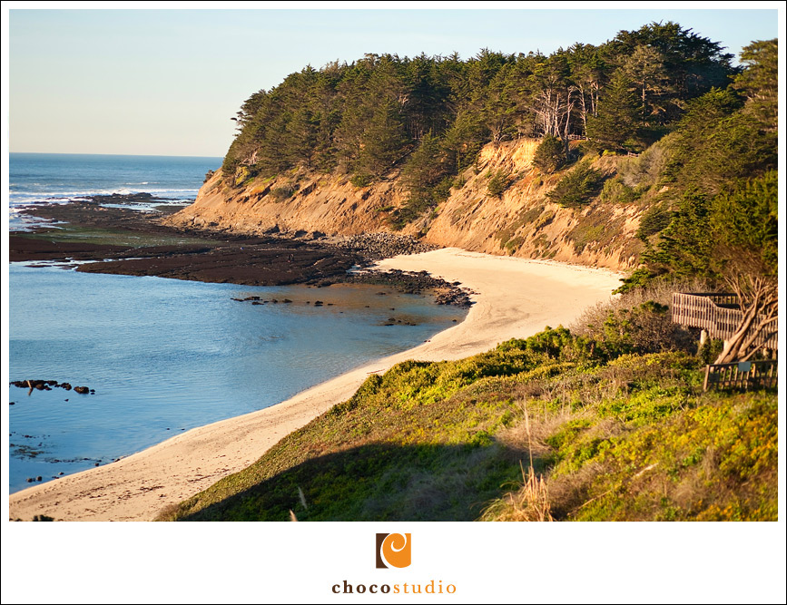 Perfect location for engagement session at Moss Beach in Half Moon Bay