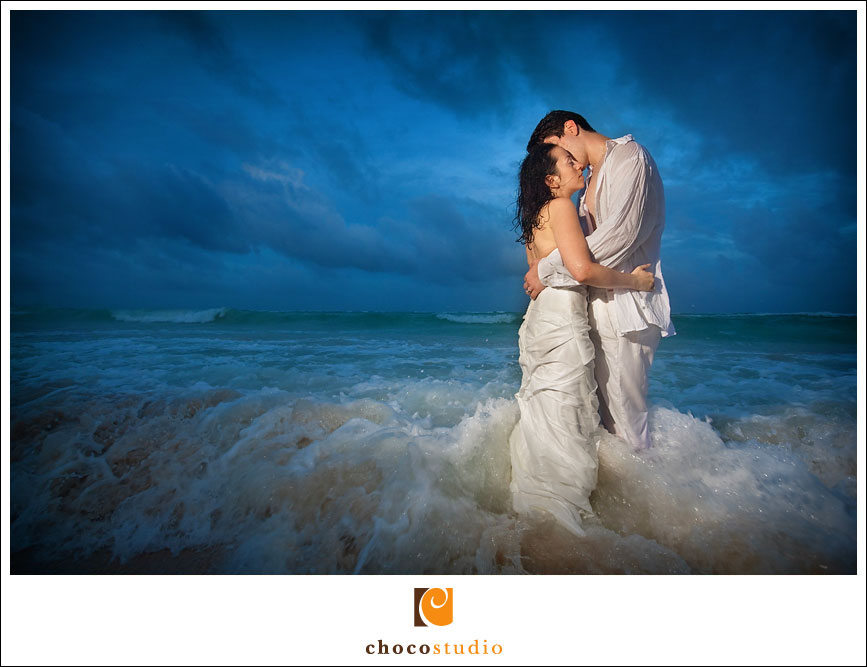 Mexico destination wedding photograph
