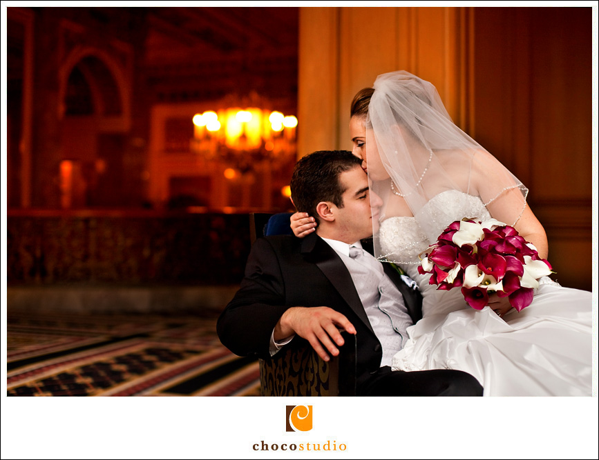 San Francisco Sir Francis Drake wedding photography