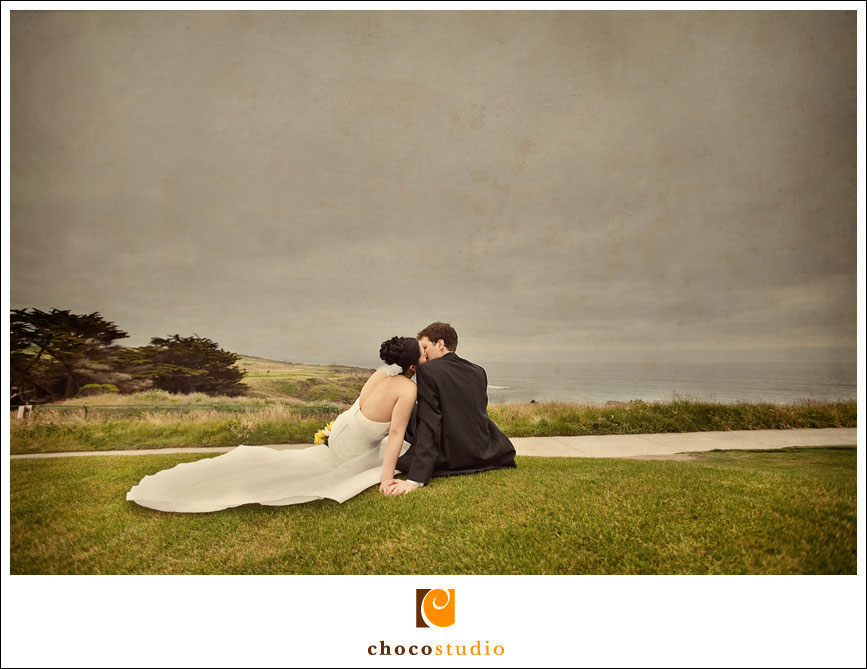 Half Moon Bay wedding photo