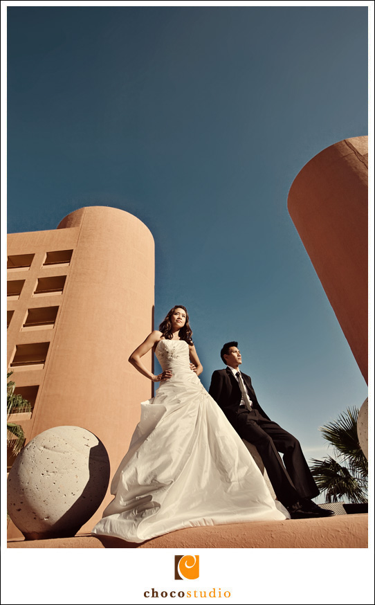 The Westin Hotel Mexico destination wedding photography