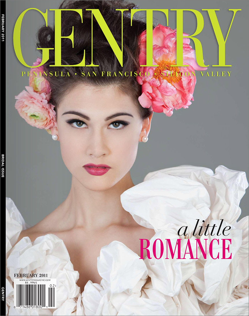 Gentry magazine San Francisco wedding photographer