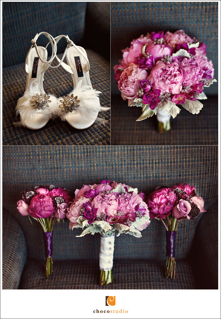 Creative wedding shoes