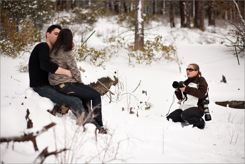 San Francisco wedding photographer shooting in Tahoe