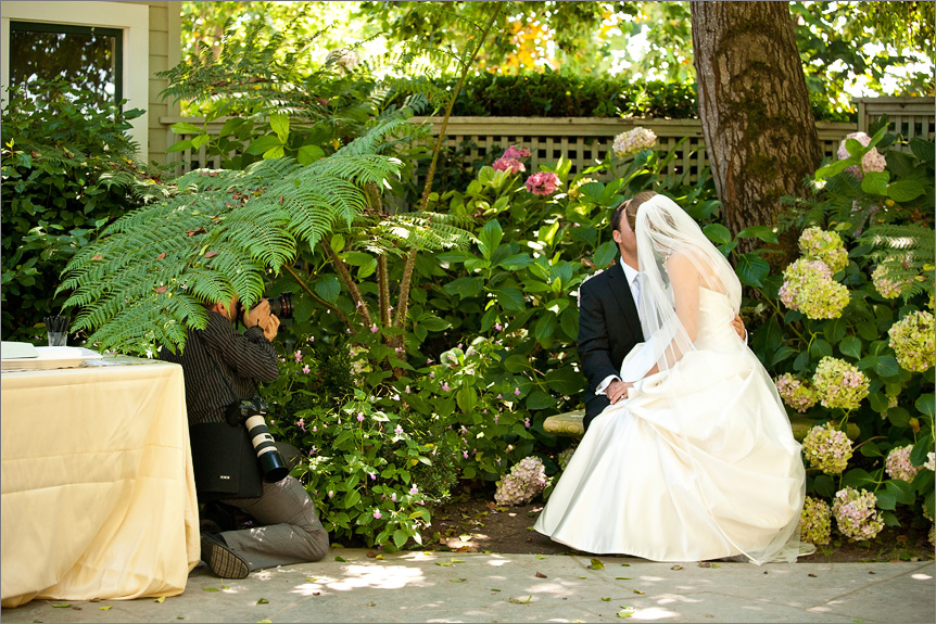 San Francisco wedding photographer in Sebastopol
