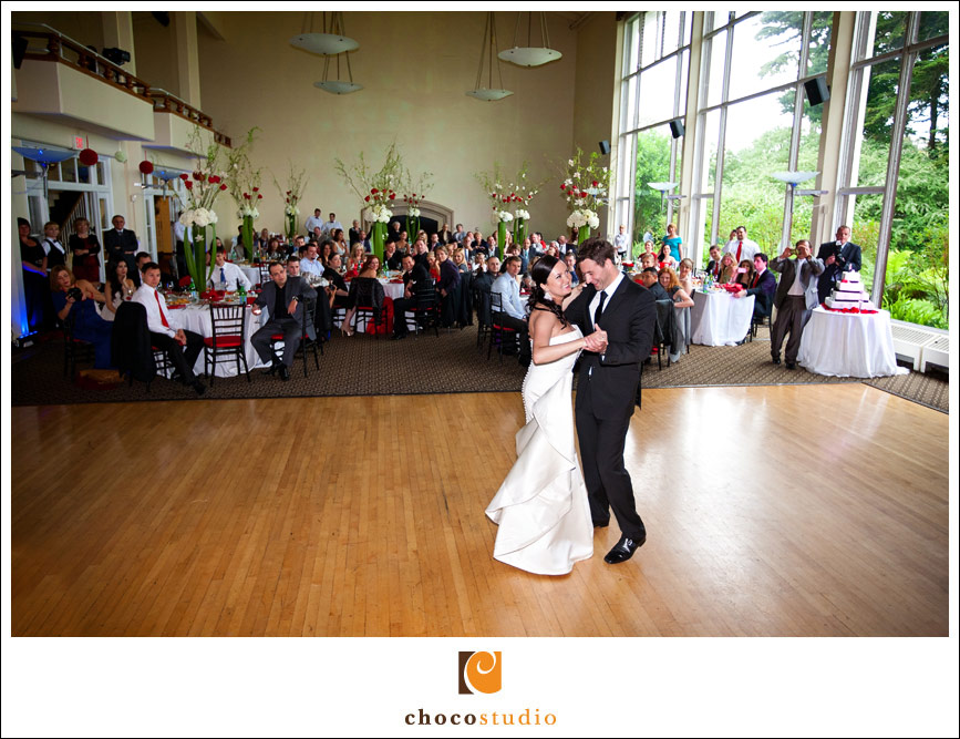 Presidio Golden Gate Club wedding reception