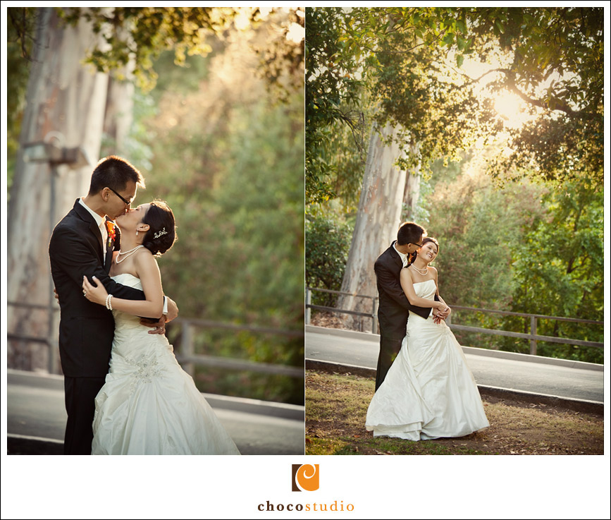 Sunset portraits at Villa Montalvo