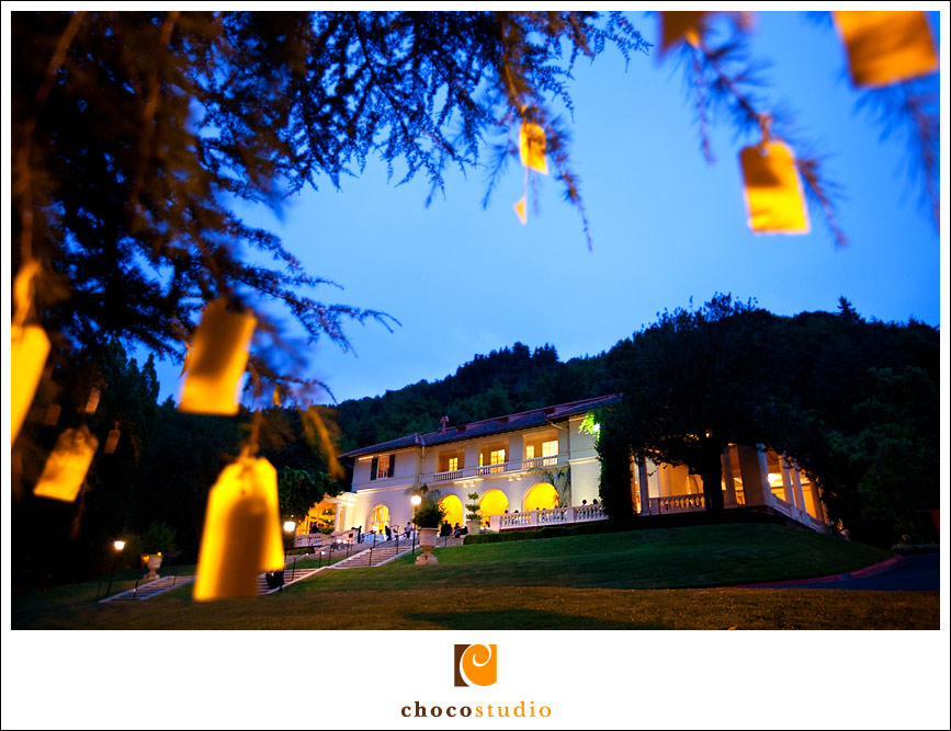 Villa Montalvo night shot