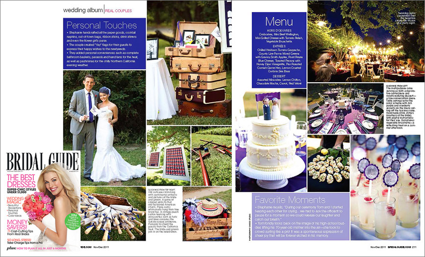 Wedding photographer is published in magazine