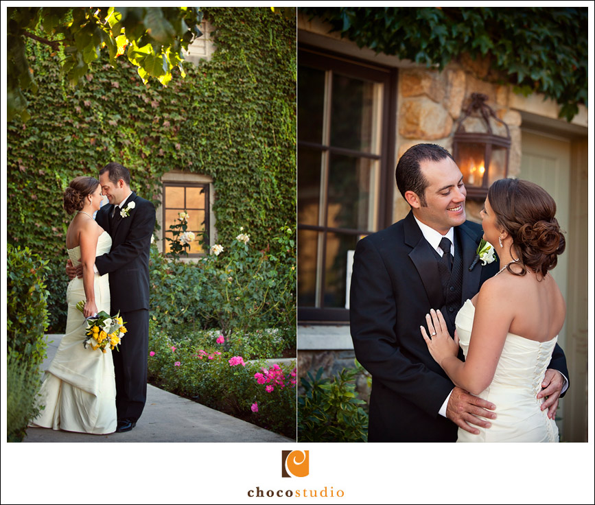 Mulberry Grove wedding portrait