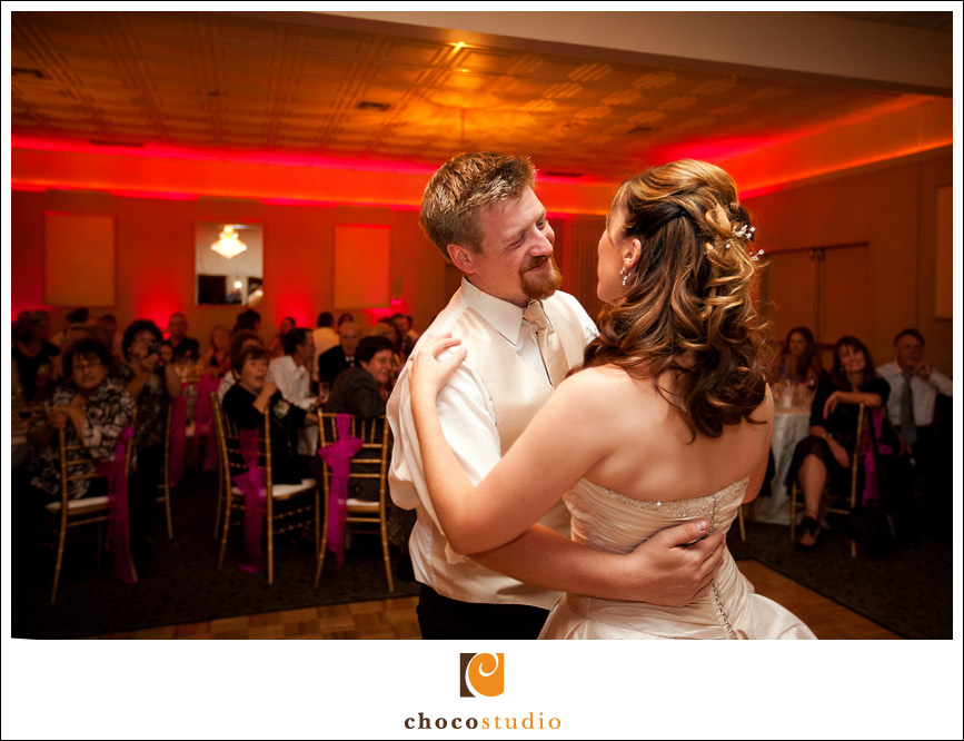 First dance at Wedgewood Wedding and Banquet Center