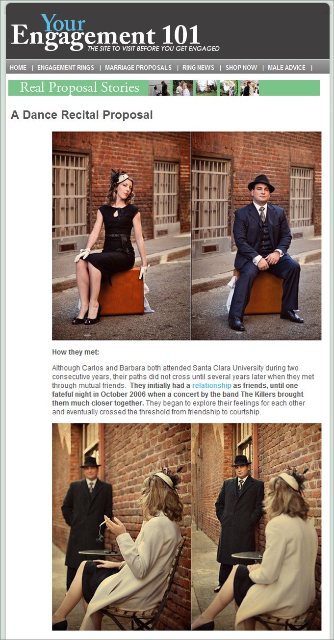 Featured on Engagement 101 blog