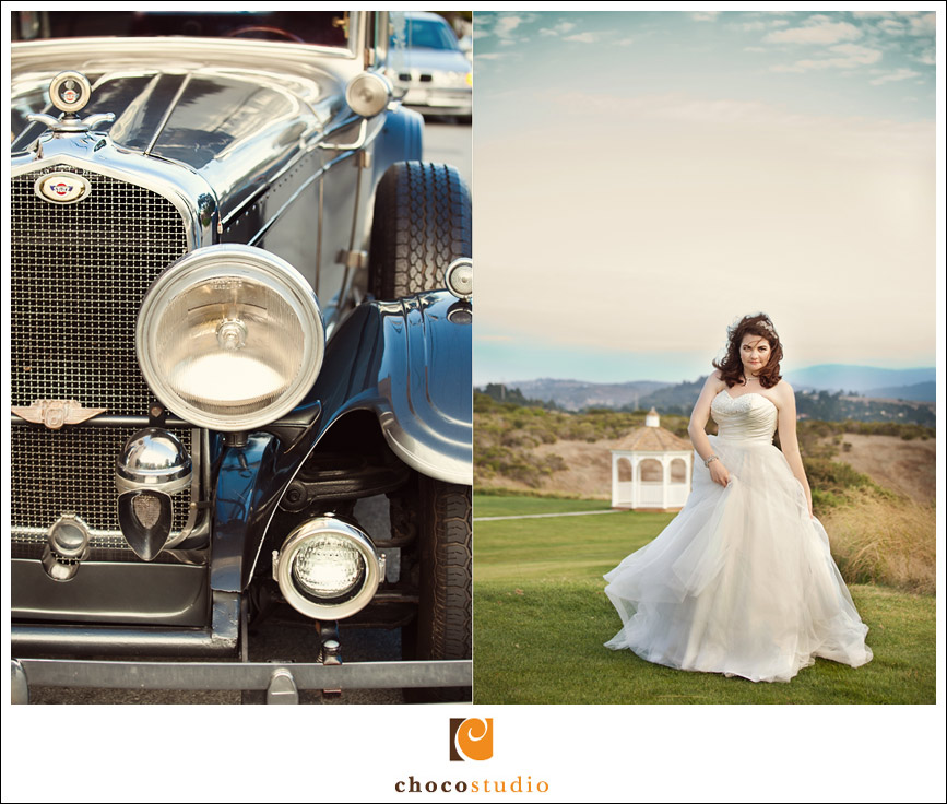 Bride at Crystal Springs Golf Course