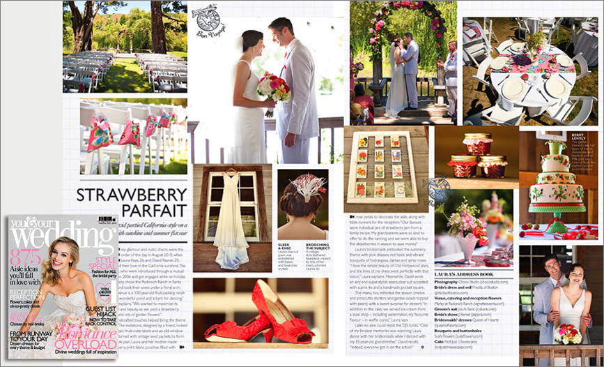 Featured in British Bridal magazine