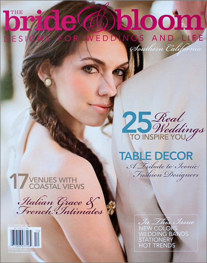 San Francisco wedding photographer featured in magazine