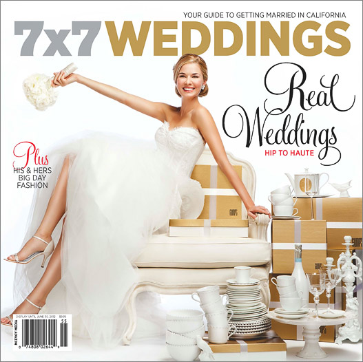 The Dawn Ranch Lodge Wedding is Published in 7×7 Magazine!