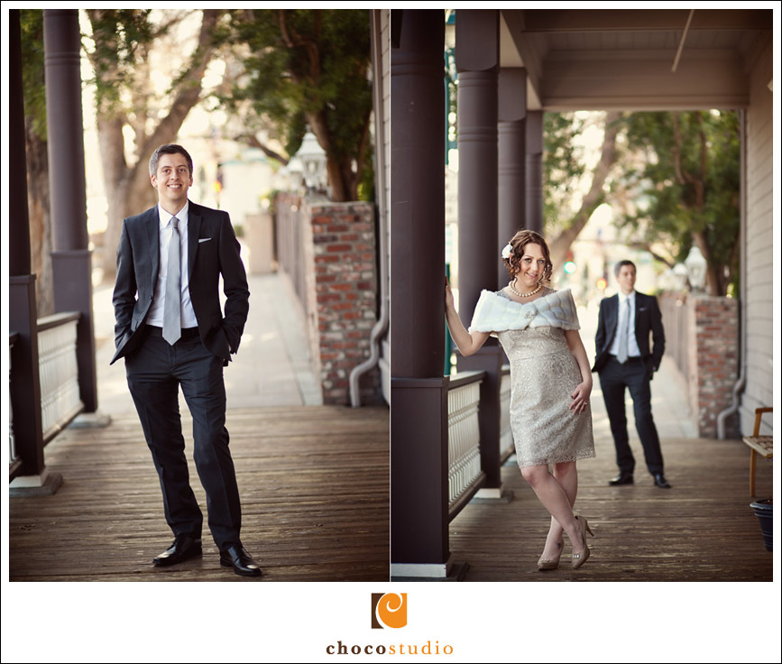 Bride and Groom wedding day portraits in Pleasanton