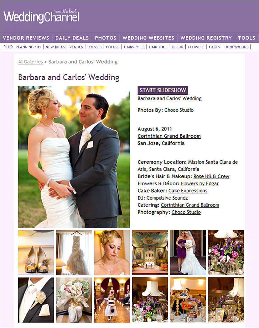 San Francisco Wedding Photographer Featured Wedding Channel