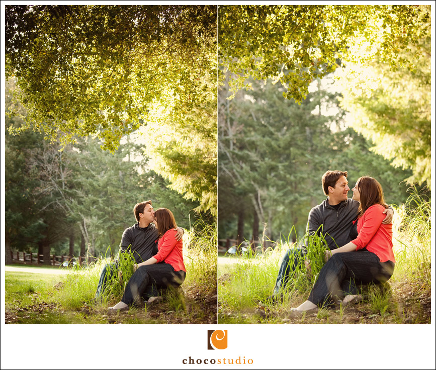 San Francisco spring Engagement Session