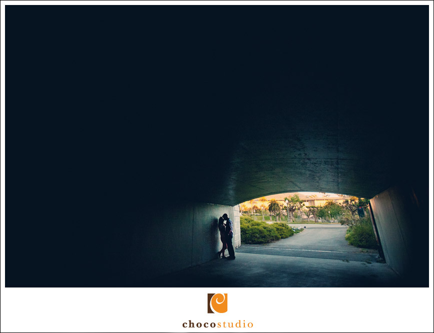 Tunnel engagement in Golden Gate Park