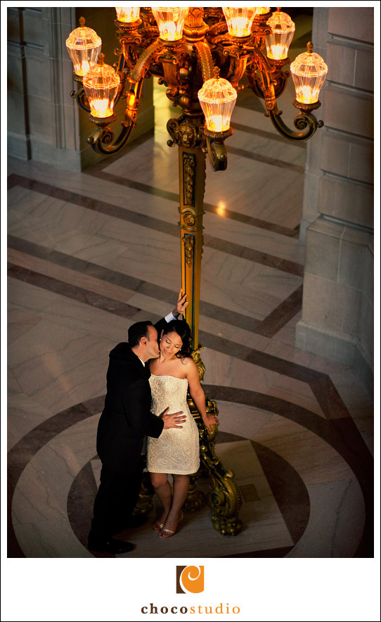 SF City Hall elopement photography
