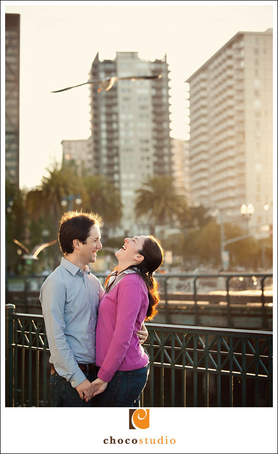 Embarcadero Engagement Session Photo
