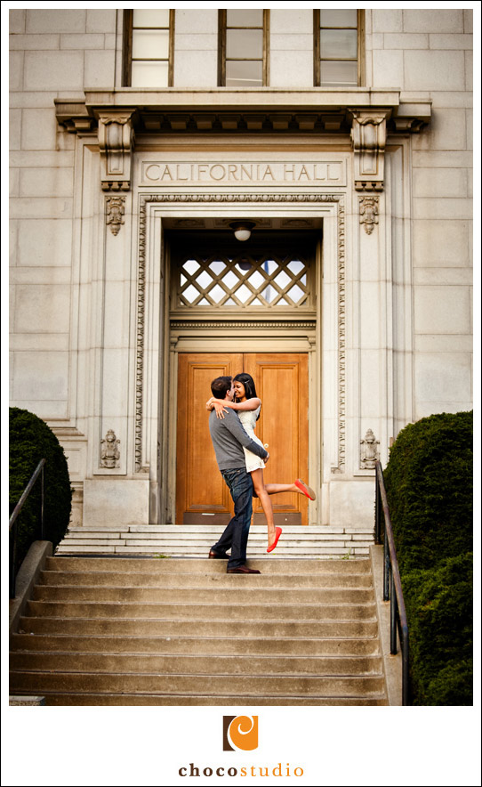 Getting engaged on UC Berkeley campus