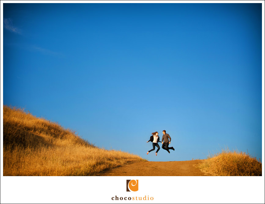 California hills Garin Park Engagement Session