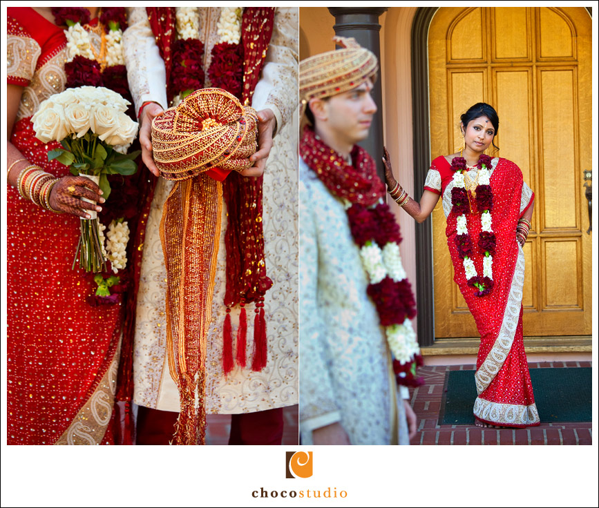 Indian wedding portrait at Palmdale Estates
