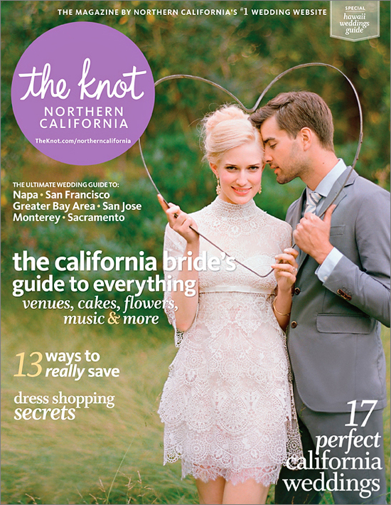 Award winning Bay Area wedding photographer featured The Knot