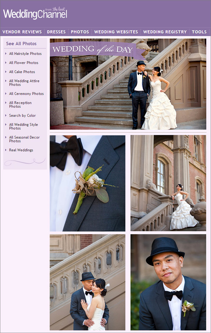 San Francisco Wedding Photographer Featured Knot