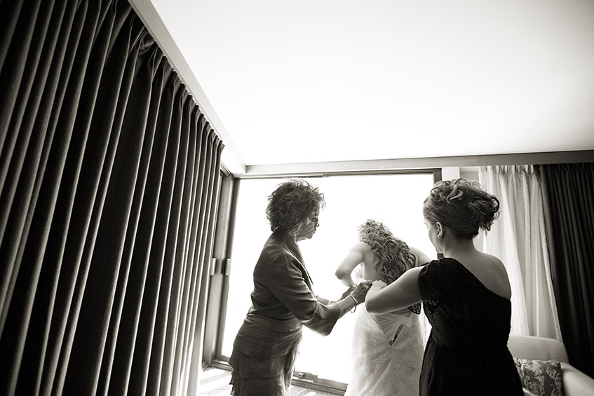 San Francisco Bently Reserve wedding bridal preparation