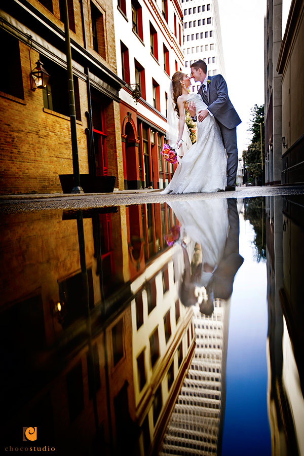 Harmonic wedding photography downtown San Francisco