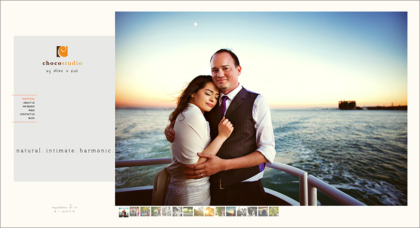 Natural intimate harmonic San Francisco wedding photographer site