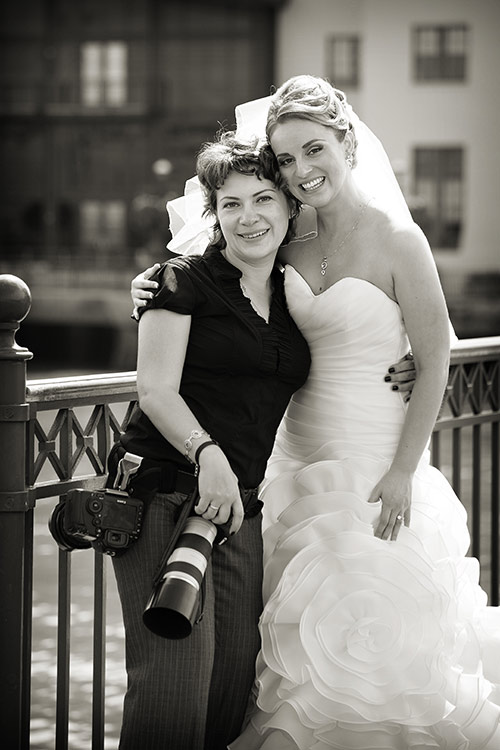 San Francisco wedding photographer at Four Seasons hotel behind the scenes