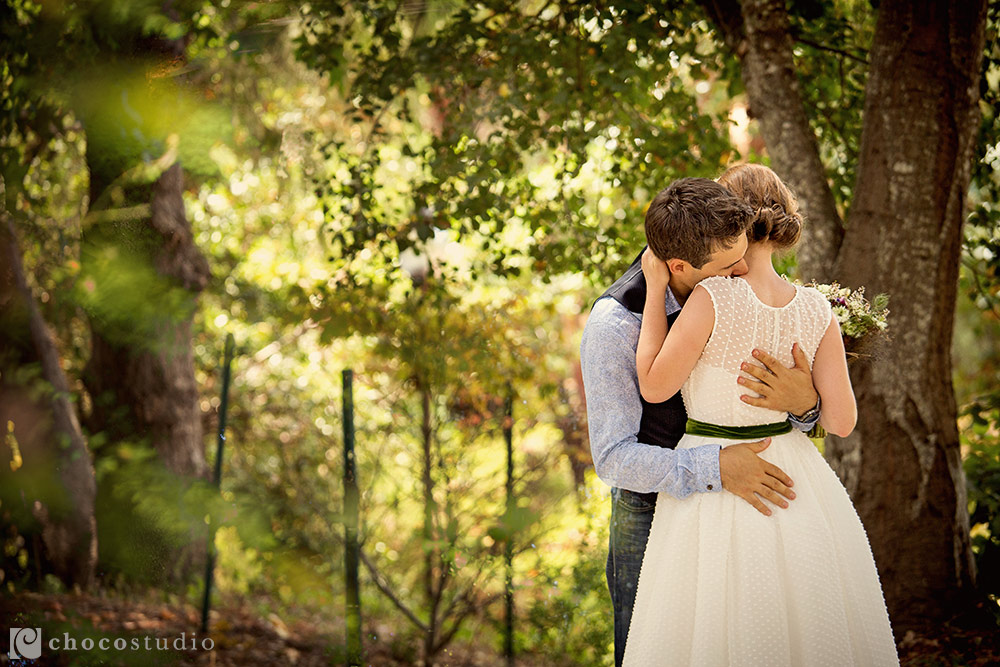 Pema Osel Ling wedding bride and groom emotional portrait
