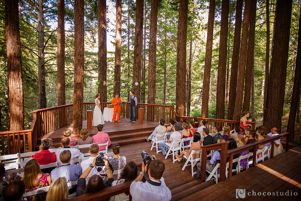 Pema Osel Ling intimate wedding ceremony