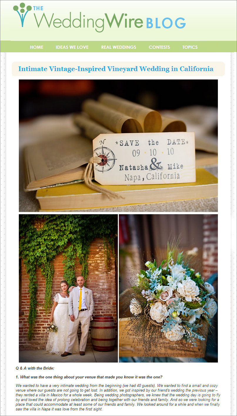San Francisco Wedding Photographer Featured Wedding Wire