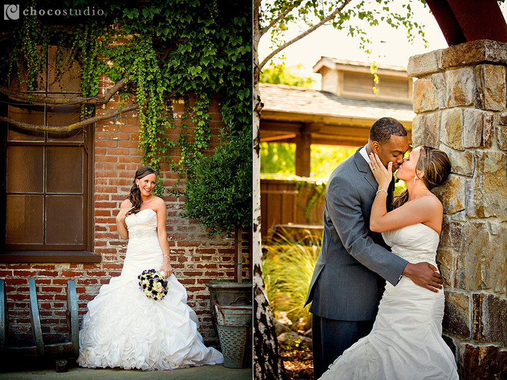 Vintage Inn Yountville wedding portraits