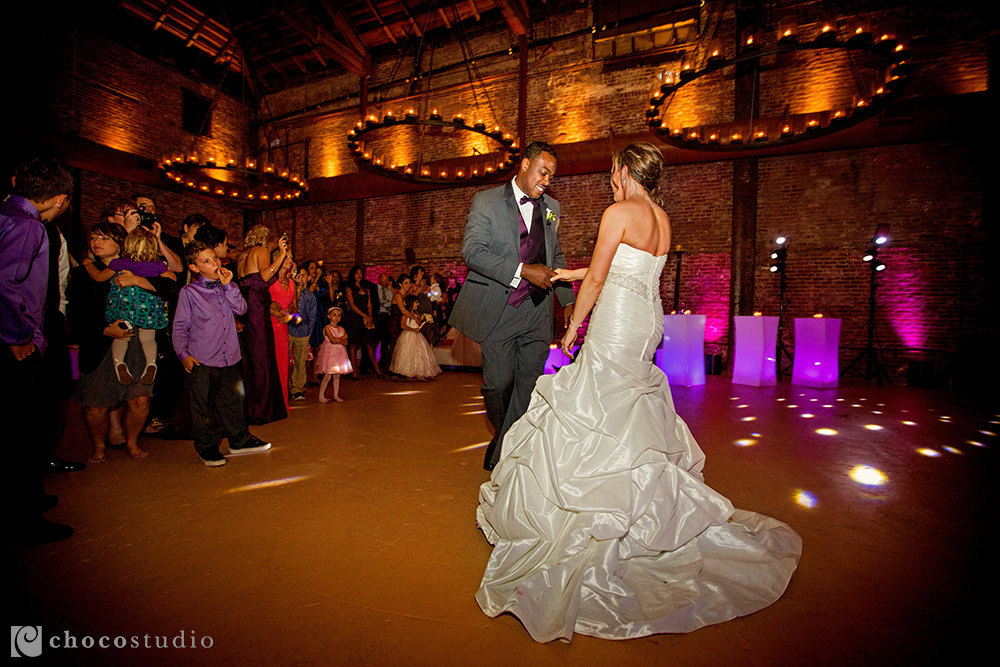First dance at Vintage Inn in Yountville
