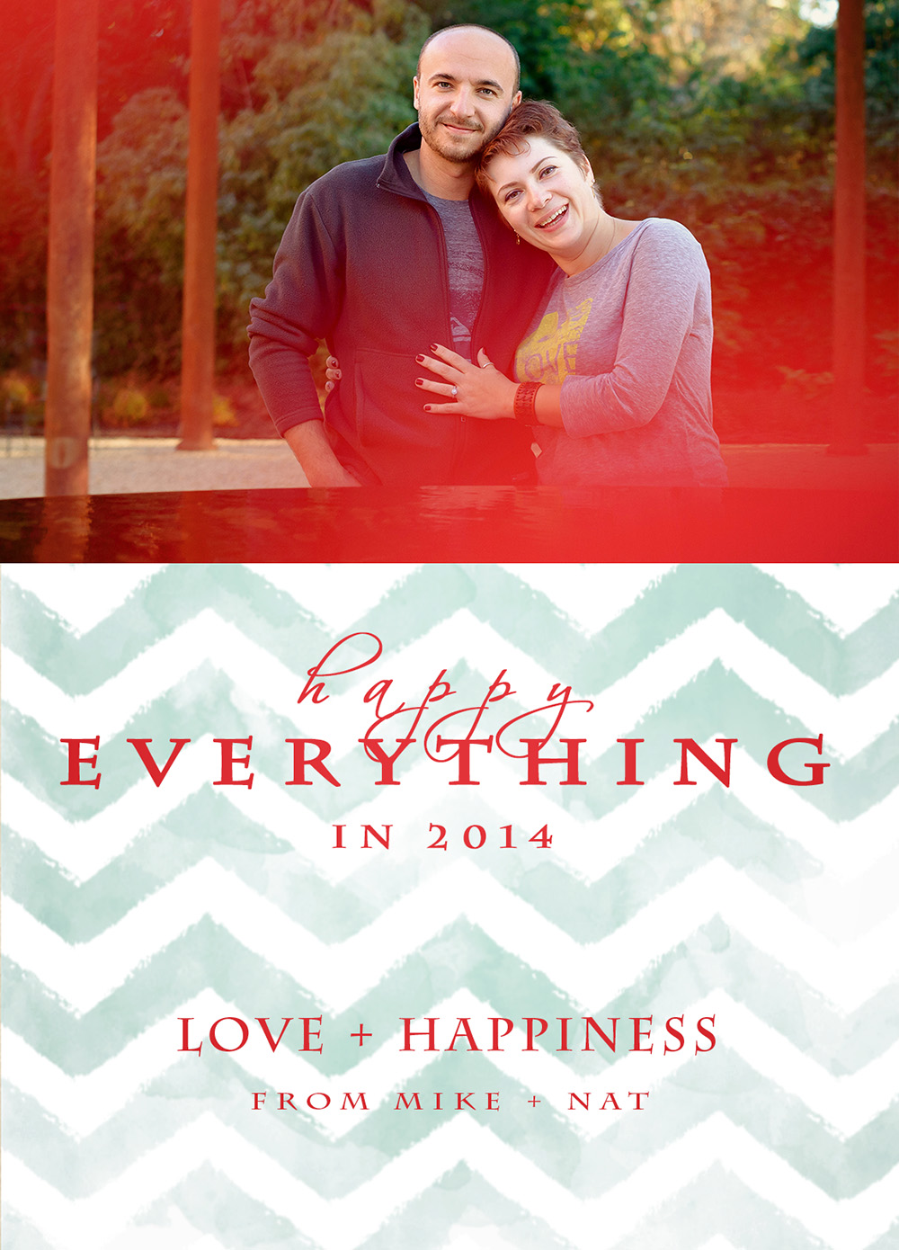 Wedding Photographer San Mateo Holiday Card