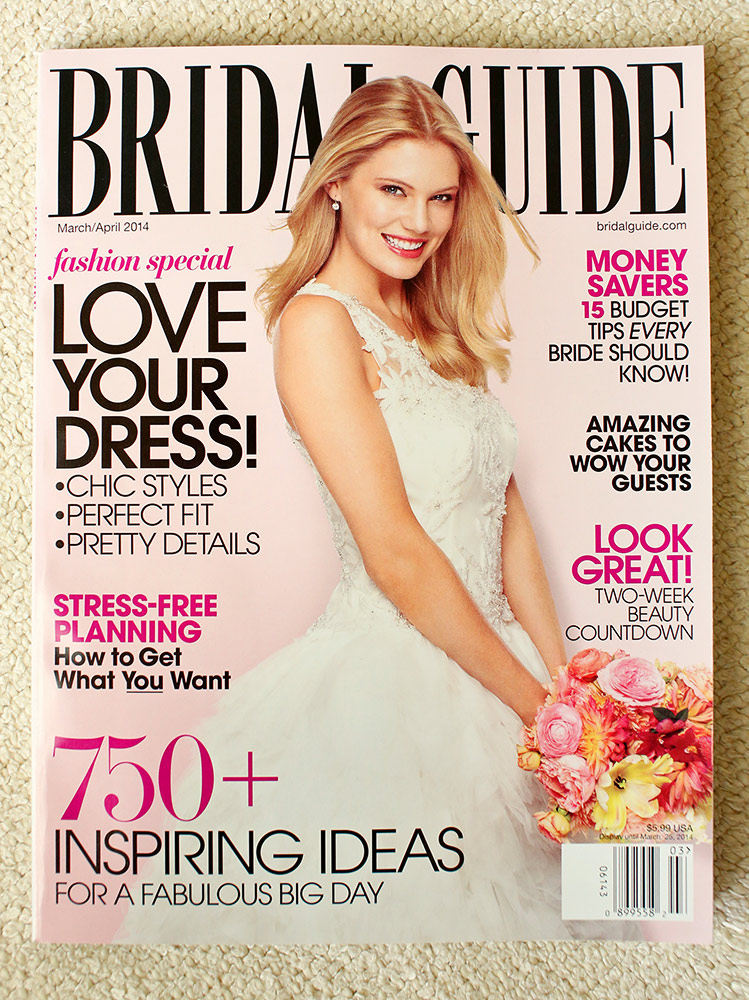 San Mateo Wedding Photographer Featured Bridal Guide Magazine